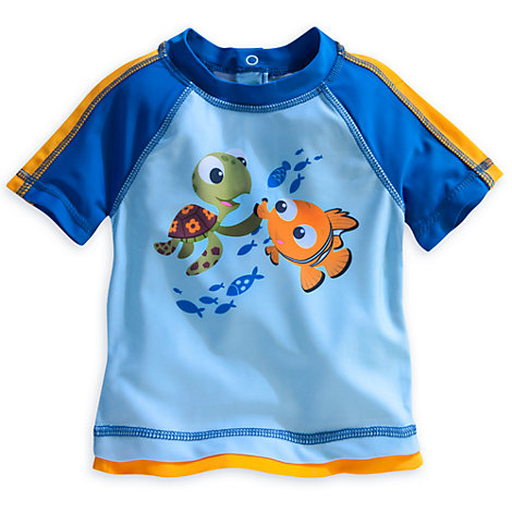 Finding Nemo Rash Top With UPF 50+ Protection