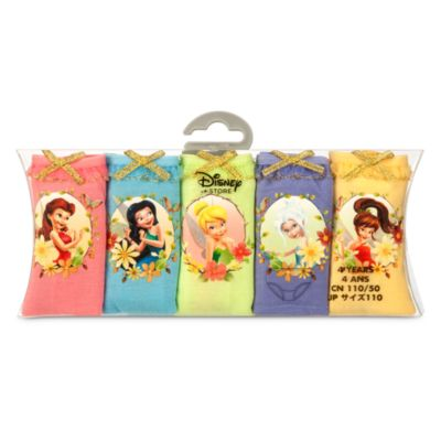 Fairies Briefs For Kids, Pack of 5