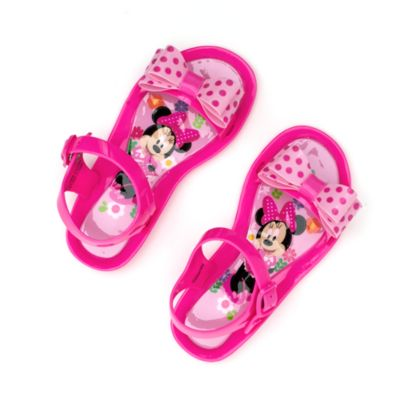 Minnie Mouse Jelly Sandals For Kids