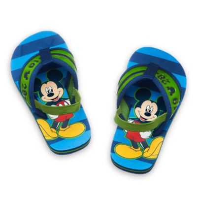 Mickey Mouse Flip Flops For Kids