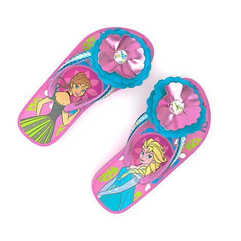 Frozen Wedge Flip Flops For Kids