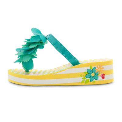 Fairies Wedge Flip Flop For Kids