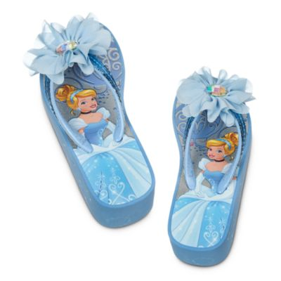 Cinderella Wedge Flip Flops For Kids