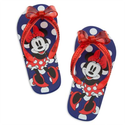Minnie Mouse Red Flip Flops For Kids