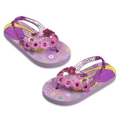 Rapunzel Flip Flops For Kids