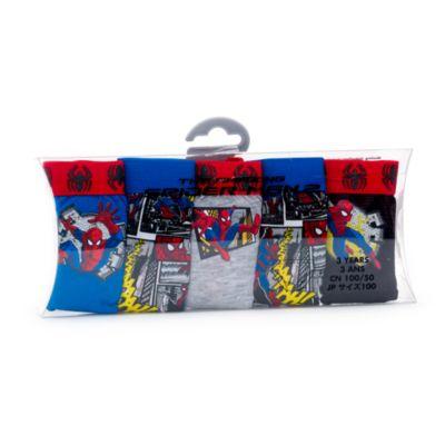 Ensemble de 5 slips Spider-Man pour enfants
