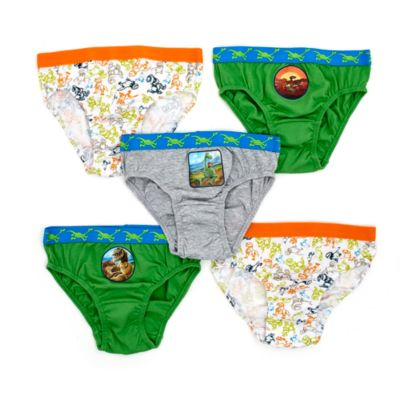 The Good Dinosaur Briefs For Kids, Pack of 5