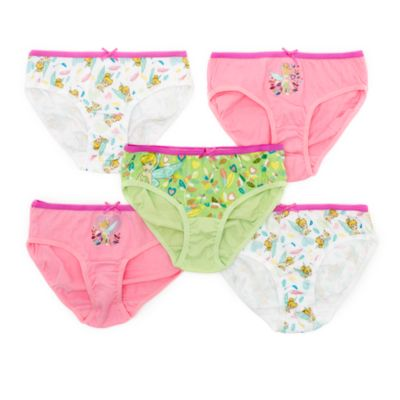 Tinker Bell Briefs For Kids, Pack of 5