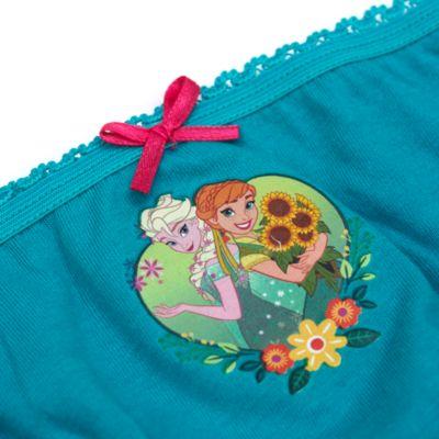 Lot de 5 culottes pour enfants La Reine des Neiges