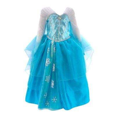 Elsa From Frozen Deluxe Costume Dress For Kids
