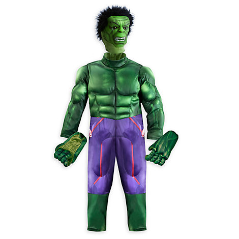 Disfraz de lujo Hulk para niño