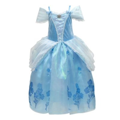 Cinderella Deluxe Costume Dress For Kids