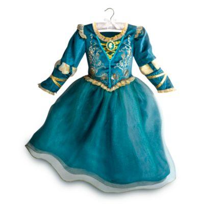 Merida Costume Dress For Kids