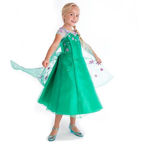 Elsa Costume Dress, Frozen Fever