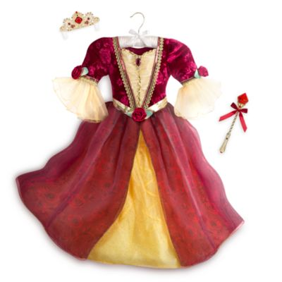 Belle Deluxe Light-Up Costume With Accessories For Kids