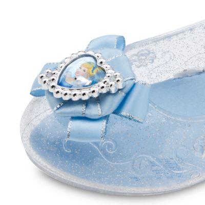 Chaussures de déguisement lumineuses Cendrillon pour enfants