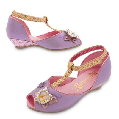 Rapunzel Costume Shoes For Kids
