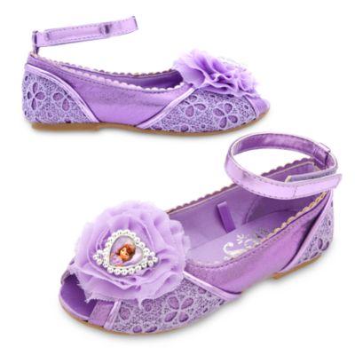 Zapatos infantiles disfraz Princesa Sofía