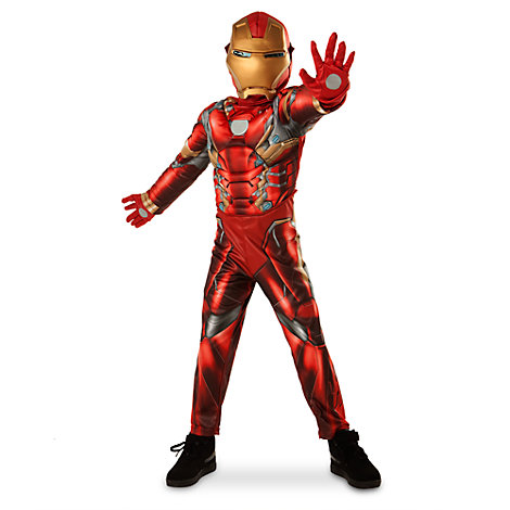 iron man costume for kids. Black Bedroom Furniture Sets. Home Design Ideas