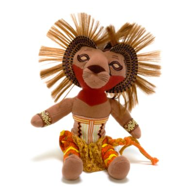 The Lion King Musical Collection 30cm Simba Soft Toy
