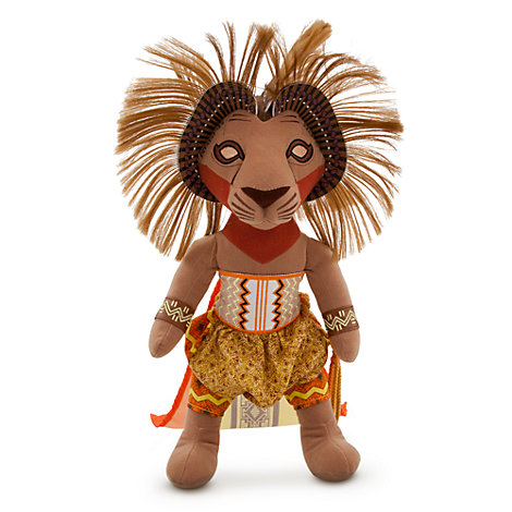 The Lion King Musical Collection Limited Edition 48cm Large Simba Soft Toy