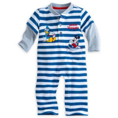 Mickey Mouse Knitted Baby Romper
