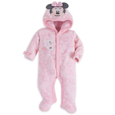 Minnie Mouse Layette Baby Character Romper