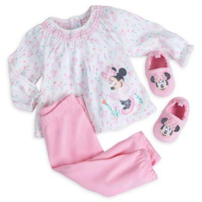 Ensemble pyjama et chaussons Minnie Mouse Layette pour bébé