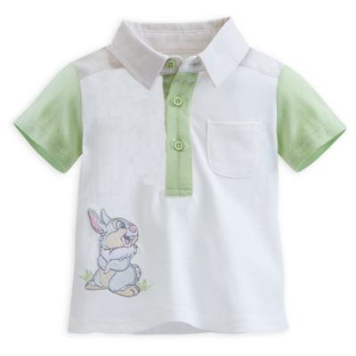 Thumper Layette Baby Collared T-Shirt and Shorts