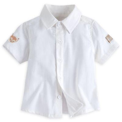 Bambi Layette Baby Shirt and Dungaree Set