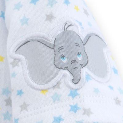 Dumbo Layette Baby Dungaree Set
