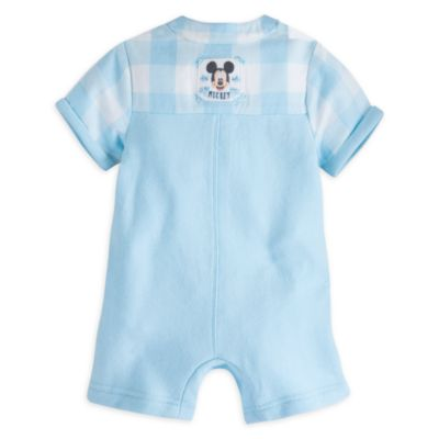 Mickey Mouse Layette Baby Pinafore Body Suit Set