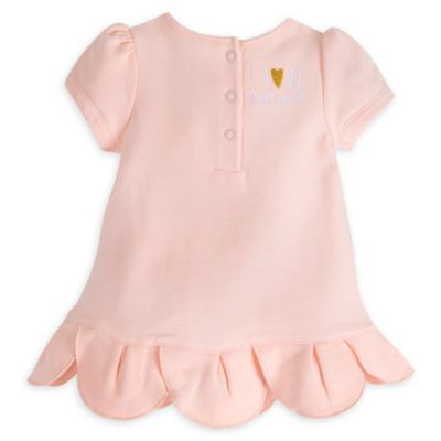 Bambi Layette Baby Dress and Leggings Set