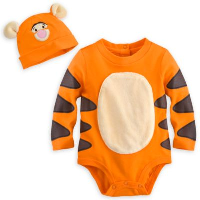 Tigger Costume Body Suit and Hat