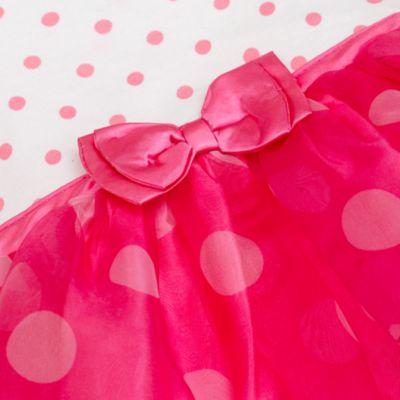 Body déguisement Minnie Mouse blanc et rose
