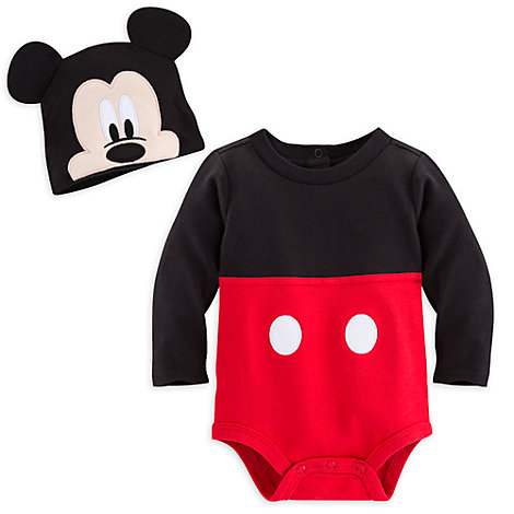 Mickey Mouse Character Baby Body Suit