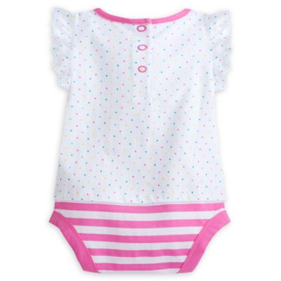 Minnie Mouse Pink Baby Polka Dot Body Suit
