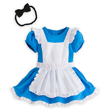 Alice in Wonderland Baby Costume Body Suit