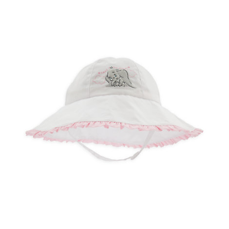 Dumbo Layette Baby Pink Sun Hat