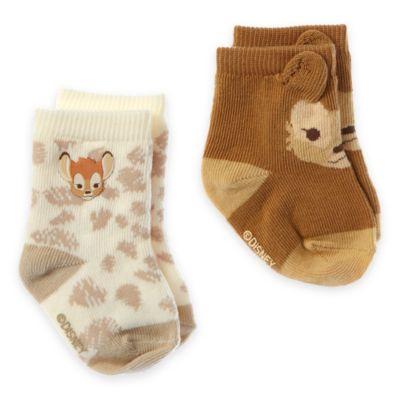 Bambi Layette Baby Socks, 2 Pairs