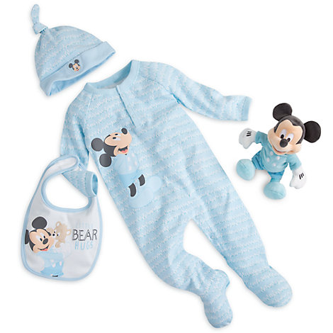 Mickey Mouse Layette Gift Set