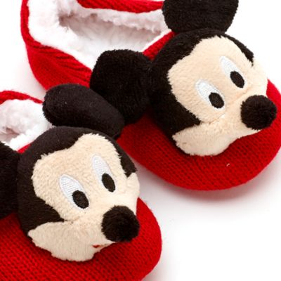Mickey Mouse Knitted Baby Slipper