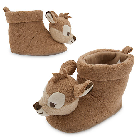 Bambi Layette Baby Slippers
