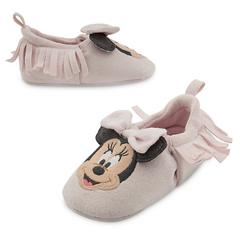 Minnie Mouse Layette Baby Shoes