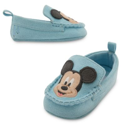 Mickey Mouse Layette Baby Shoes