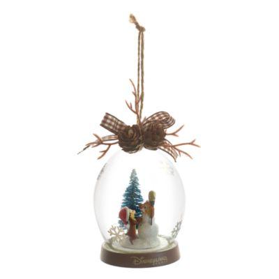 Piff och Puff i skogen juldekoration