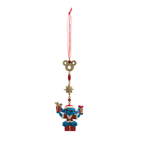 disney store lilo and stitch christmas tree ornament decoration bauble. Black Bedroom Furniture Sets. Home Design Ideas