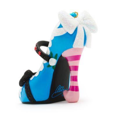 Alice in Wonderland Miniature Decorative Shoe