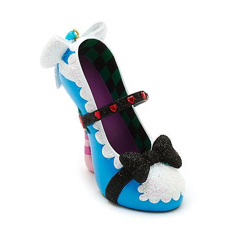 Zapato decorativo miniatura Alicia en el País de las Maravillas