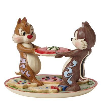 Disney Traditions Chip 'n' Dale Christmas Figurine